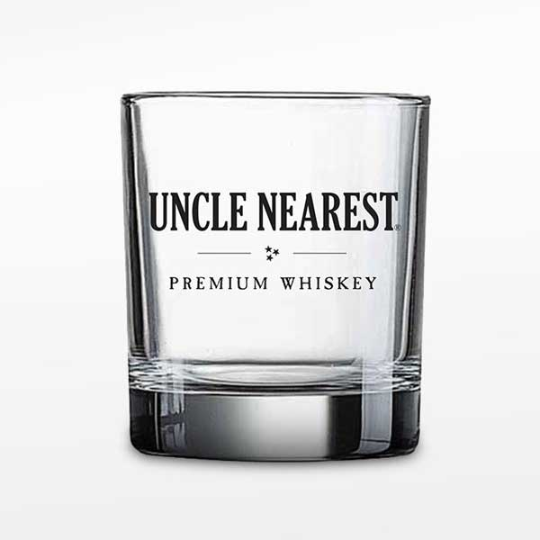 Shot Glass with Uncle Nearest Logo
